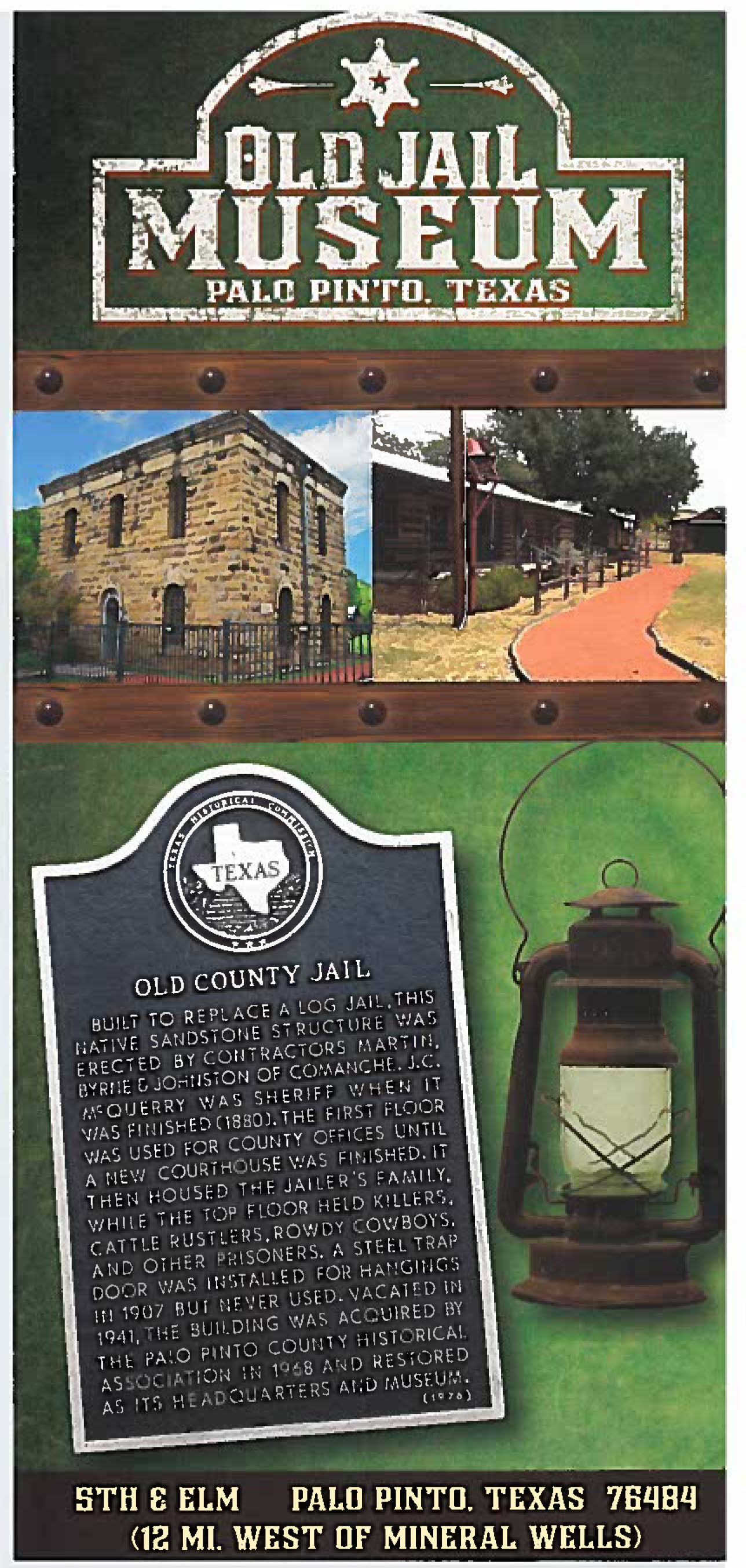 old jail museumcard Page 1